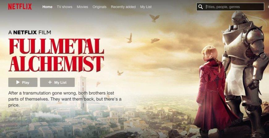 A Netflix Film: Fullmetal Alchemist